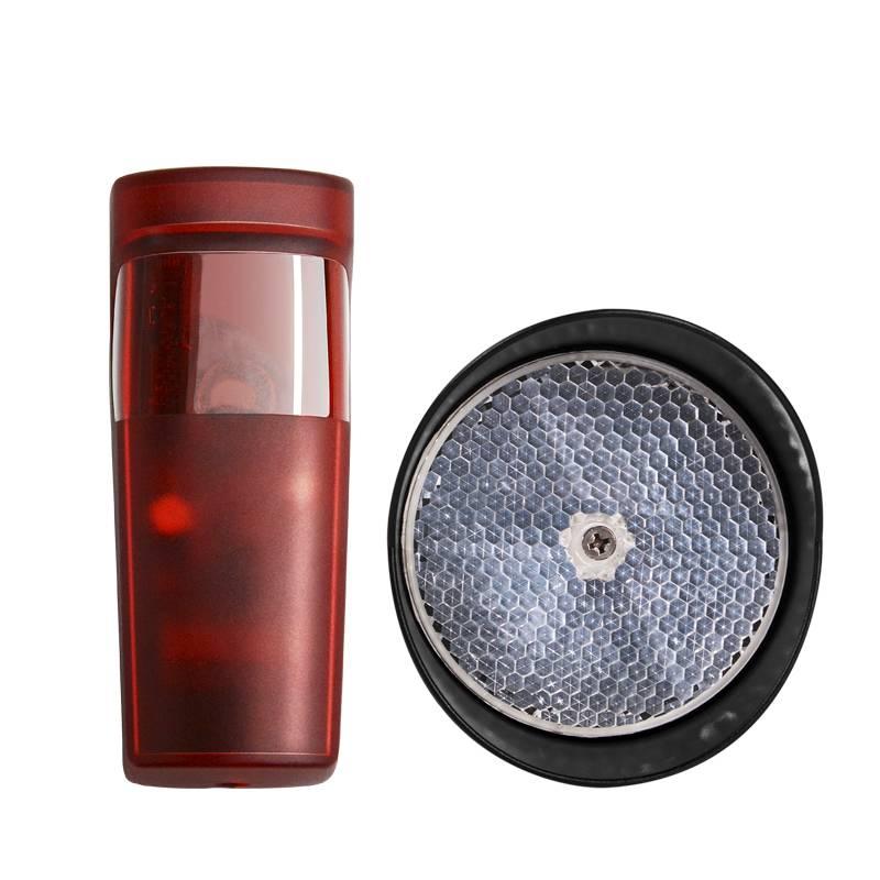 10m Gate & Door Sensor Safety Beam Sensors/waterproof Reflective Mirror Infrared Photocells