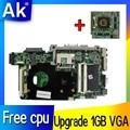 Обновление 1 ГБ VGA + Бесплатный процессор T7500 для For Asus K51AB K51AF K70AF K70AB K70AD материнская плата для ноутбука 100% ОК