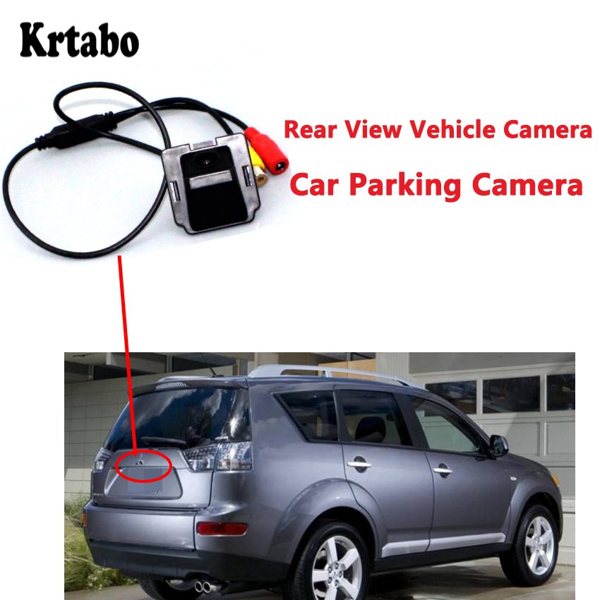 For Mitsubishi Outlander 2006 2007 2008 2009 2010 2011 2012 2013 Hd CCD High Quality Waterproof Back Up Reverse Camera