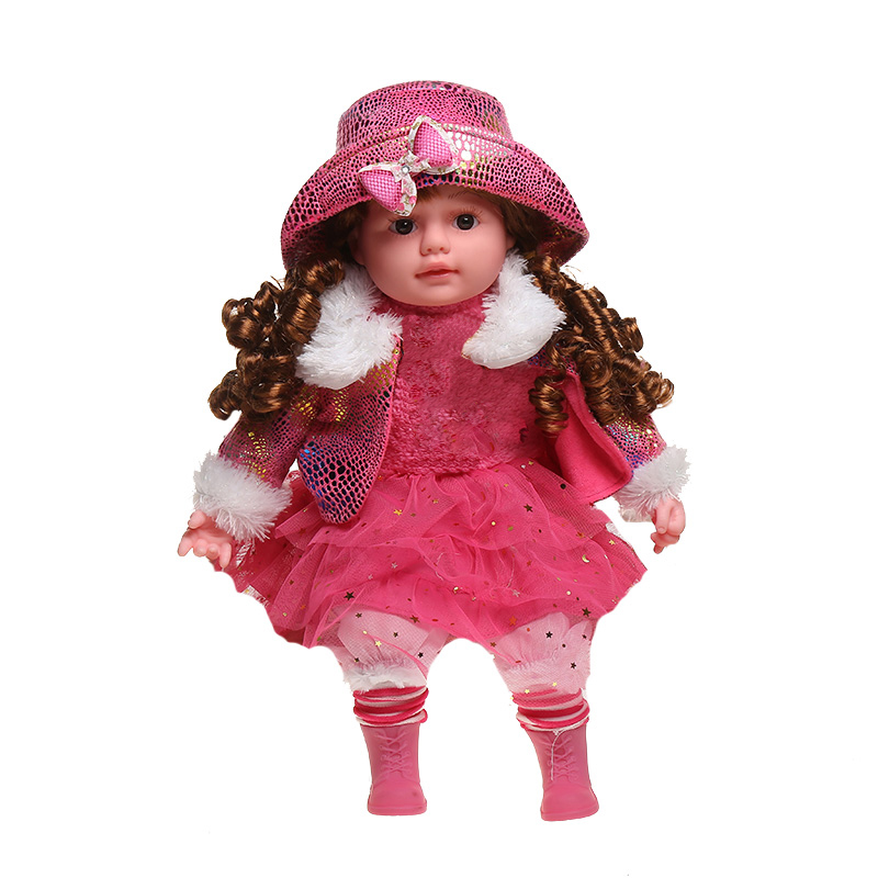 50CM Newborn Bebe Reborn Dolls Toys Kids Soft Stuffed <font><b>Princess</b></font> <font><b>Toddler</b></font> Silicone Babies Dolls Accessory Girls Pink Clothes Gifts image