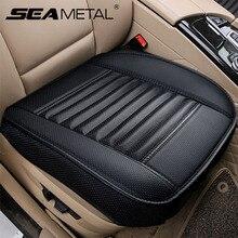 Tampas de assento do carro universal capa de assento de couro do plutônio quatro estações tampas automóveis almofada acessórios interior do carro protetor esteira