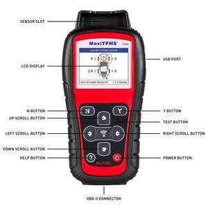 Image 2 - Autel TS508K narzędzie diagnostyczne TPMS, czujnik TPMS sprawdź stan systemu TPMS, Program mx czujniki przeprowadzić TPMS Relearn TS508 VS TS401