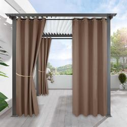 Wodoodporne zewnętrzne aksamitne zasłony ogrodowe do salonu party beach Solid 100% zasłona zaciemniająca windows treatment home decor
