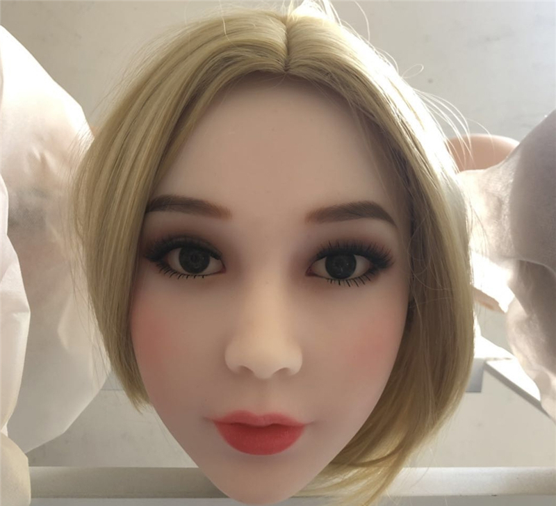 Realistic <font><b>Sex</b></font> <font><b>Doll</b></font> Head For Men Oral Heads Can Fit For 140cm To <font><b>175cm</b></font> Full Size <font><b>Dolls</b></font> image