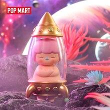 POP MART Pucky Spazio neonati Giocattoli figura di Azione Figura Di Compleanno Giocattolo Del Regalo Del Capretto trasporto libero