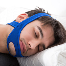 New Neoprene Anti Snore Stop Snoring Chin Strap Belt Anti Apnea Jaw Solution Sleep Support Apnea Belt Sleeping Care Tools anti snore chin strap stop snoring snore belt sleep apnea chin support straps for woman man health care sleeping aid tools