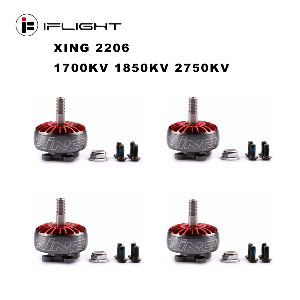 iFlight XING 2206 2750KV 2-6S <font><b>Brushless</b></font> <font><b>Motor</b></font> with Titanium alloy shaft suitable <font><b>5045</b></font> 5043 6045 propeller for FPV Racing Drone image