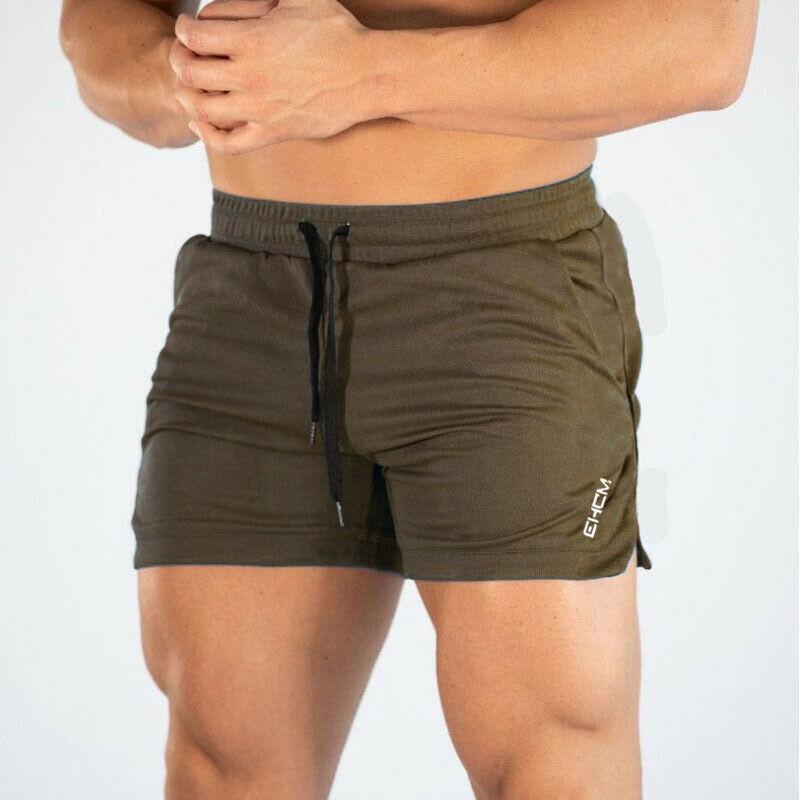 Mens Running Shorts Training Shorts Workout Bodybuilding Gym Sports Men Casual Clothing Male Fitness Jogging Training Shorts 7