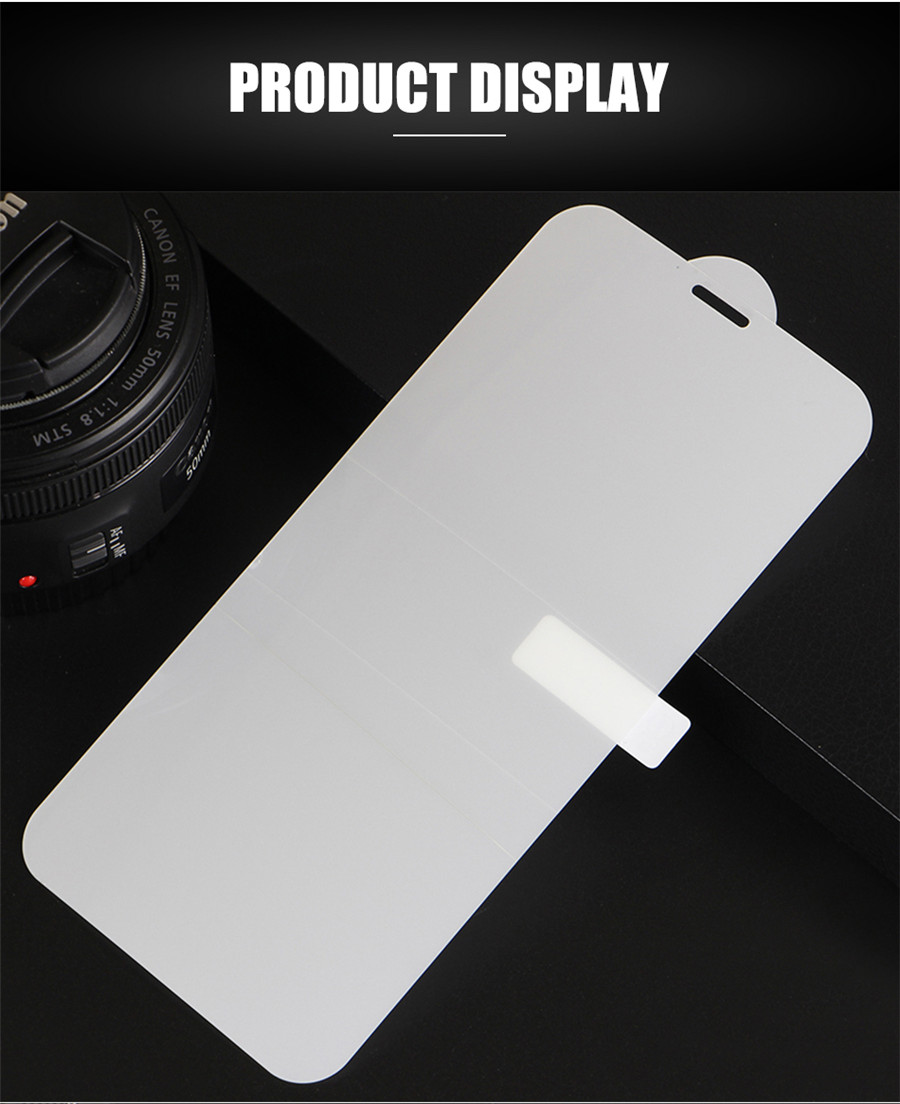 Curved Front And Back Soft Clear TPU Screen Protector Glass for Samsung Galaxy Models 4