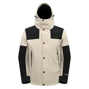 Мужские летние эластичные однослойные куртки, новинка, весна-осень, четыре стороны, водонепроницаемые, для подъема рыбы, походов, спорта, ак...