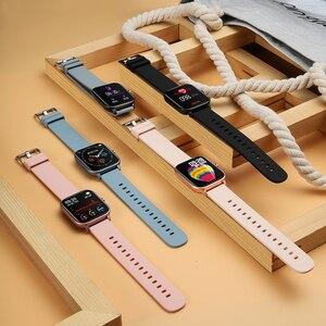 Image 4 - 전체 화면 터치 P8 스마트 시계 팔찌 남성 여성 스포츠 더 많은 시계 얼굴 심장 박동 모니터 수면 모니터 IP67 Smartwatch