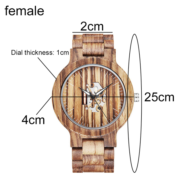 Couple Gift Women Watches Laides Casual Wrist Watch Wooden Round Dial Band No Number Analog Hollow Couple Bracelet Quartz Watch 5