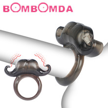 Simon Lock Ring For Male Sex Toys Single Frequency Male Beard Vibration Lock Ring Men Ejaculation Cock Ring Sex Products For Men