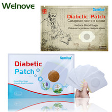 6pcs/bag Two Kinds Diabetic Patch 100% Natural Herb Stabilizes Blood Sugar Level Balance Blood Glucose Treatment Mediacl Plaster