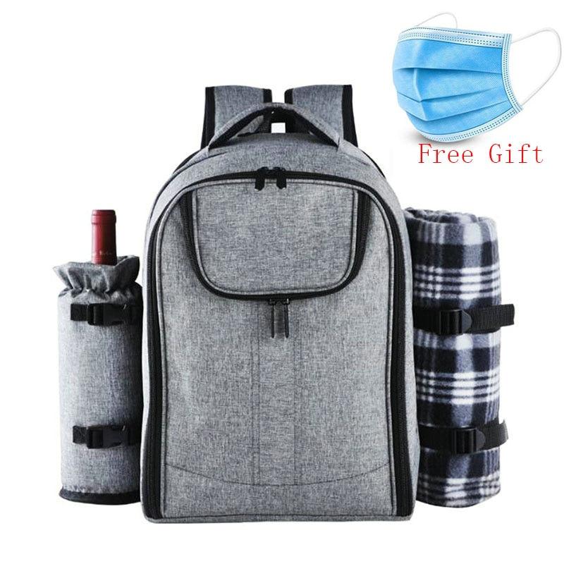 25L Outdoor Picnic Backpack Men Camping Cooler Bag Refrigerator Waterproof Nylon Isotherma Cooler For Picnic Bag Women Food Box