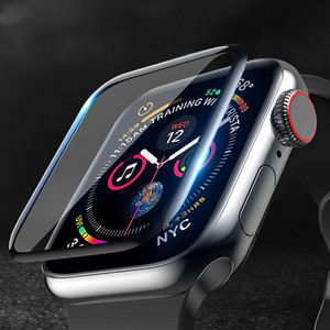 Screen Protector cover For Apple Watch band apple watch 5 4 3 44mm 40mm 42mm/38mm iwatch Soft Glass apple watch accessories 44 m