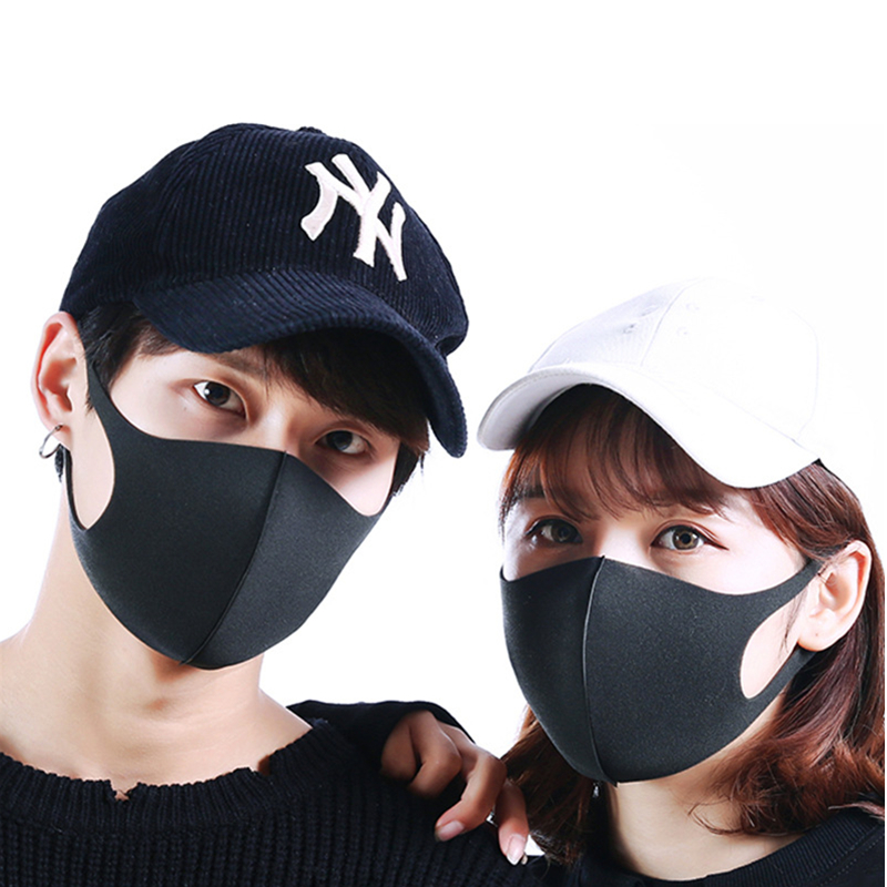 Dustproof Face Mask Unisex Korean Style Outdoor Cycling Anti-Dust Cotton Protective Cover Reusable Masks training mask