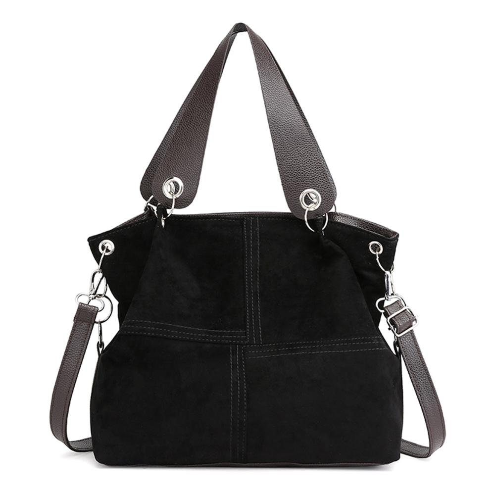 Top-handle Bags Women Shoulder Bag Female Large Tote Soft Corduroy Leather Crossbody Messenger Bag For Women 2019 Bolsa Femenina