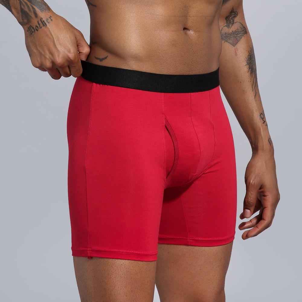 Underwear Men Boxers Long Men's Clothing Men Shorts Cotton Man Panties Boxershorts Boxer Hombre Ropa Interior Hombre