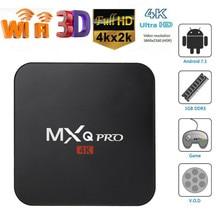 Android Tv box MXQ Pro 4k Allwinner H3 Quad Core 2.4g wifi box  2GB 16GB Android 7.1 4K Smart tv box X96 mini IPTV Media Player mxq 4k mxq 4k android tv box rk3229 2gb ram 8g rom bt 4 0 2 4g wifi hdmi2 0 iptv top box google play store media player pk x96