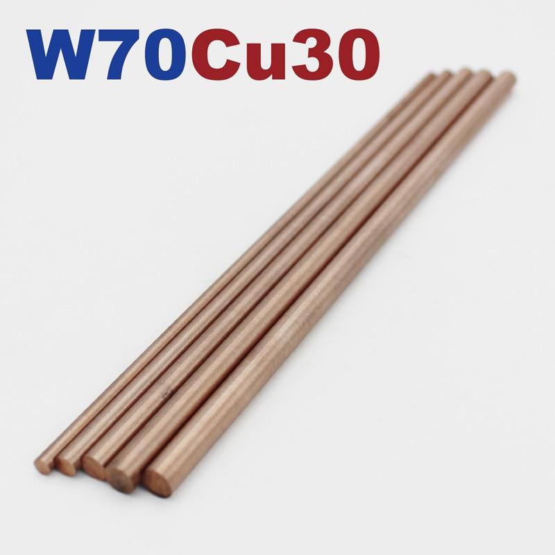 W70Cu30 Tungsten Copper Rods