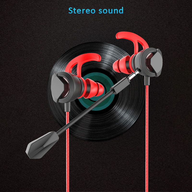 For Computer Games For PS4 Gaming Earphone Light Weight Bass Music Running 3 5mm Headphone with Microphone Universal in Headphone Headset from Consumer Electronics