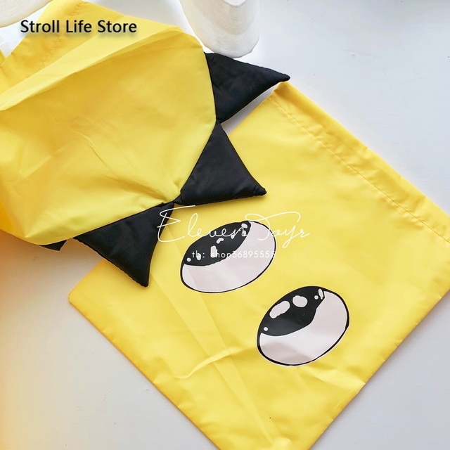 Creative Dinosaur Kids Raincoat Yellow Rain Jacket Poncho Rain Coat Children Red Windbreaker Waterproof Suit Capa De Chuva Gift 5