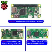 Raspberry Pi Zero W zero WH Wireless Pi 0 with WIFI and Bluetooth 1GHz CPU 512MB RAM Linux OS 1080P HD video output(China)