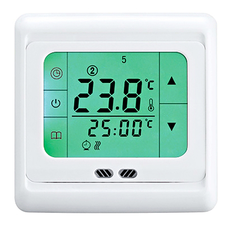Digital Heating Thermostat Programmable Temperature Controller Touch Screen 16A