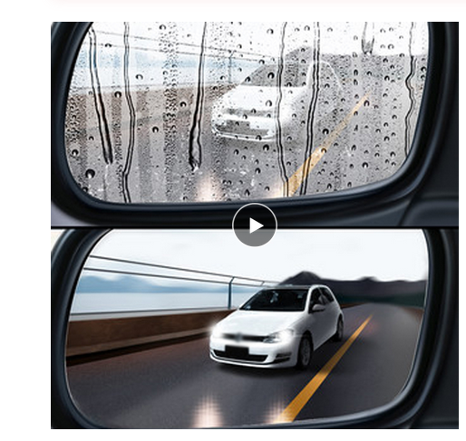 Protective-Film Car-Rearview-Mirror Auto-Accessories Clear Window Anti-Fog Rainproof
