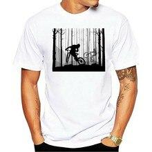 De manga curta dos homens da de t t-shirt da bicicleta de montanha 2021
