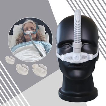 Silicone Gel CPAP SML Size Cushion All In Medical Sleep Nasal Mask For Snoring And Apnea Treatment With belt Mask