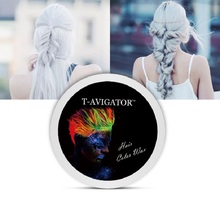 Disposable hair Color Wax  Fashion Unisex 7 Colors  Hair dye No Alcohol Easy Wash Plants Component better than others
