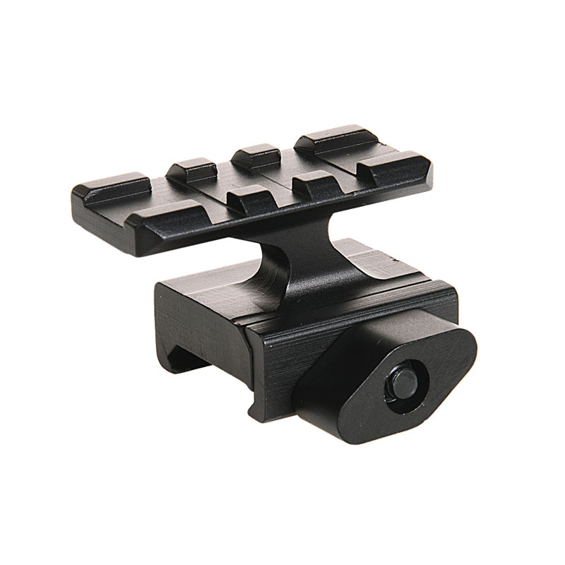 Quick Release Tactical Riser Mount QD 20mm Rail Picatinny Weaver Adapter Scope Base 3 Slot Gun Accessories For Airgun Pistol