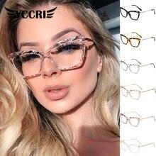 Eyeglasses Women Optical-Computer Trending Eyewearfashion Design Brand Square Multi-Section