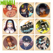 Anime Enn Enn No Shouboutai Fire Force Shinra Kusakabe  Brooch Pin Cosplay Badges For Clothes Backpack Decoration Jewelry 19556 enn nõu ma armastasin rootslast ehk solleftea suvi