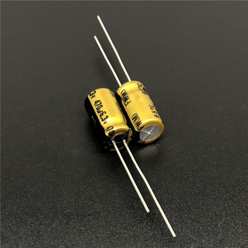 10pcs 470uF 6.3V NICHICON FW Series 6.3x11mm 6.3V470uF Audio Aluminum Electrolytic Capacitor