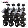Yyong włosów brazylijski włosy typu Body Wave 4 wiązki oferty ludzkich doczepiane włosy Remy włosy naturalny kolor 8-26 Cal darmowa wysyłka