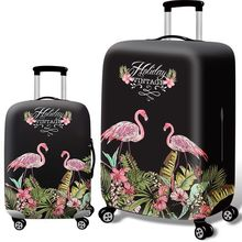 New Flamingo Suitcase Dust Cover Travel Elasticity Trolley Case Sets Durable Protective Trunk Covers
