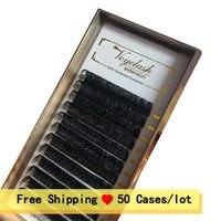 Viplash 50 cases/lot Free Shipping Individual Eyelash Extension Mink Eyelashes Maquillaje Cilios Magnetic Eyelash Pivate Labels