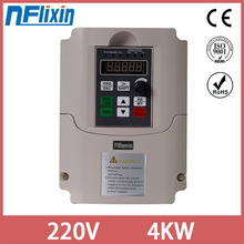 0.75KW/1.5KW/4KW 220V Frequency Inverter Single Phase Input 220V 3 Phase Output Frequency Converter For CNC Motor Water pump