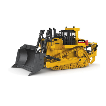 Crawler Bulldozer Model Alloy Diecast 1:50 Tracked Engineering Track Car High Simulation Collection Metal Toys For Boys Kids
