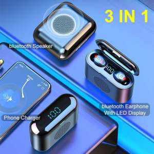 3 in 1 F9 True Wireless Blueto