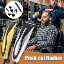 Hair-Clipper Grooming Electric-Plug Home Metal -G30 Professional Washable In-Hair