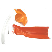 New Oil Filter Funnel Oil Change Tool &Hose Kit Orange Fits Harley Davidson