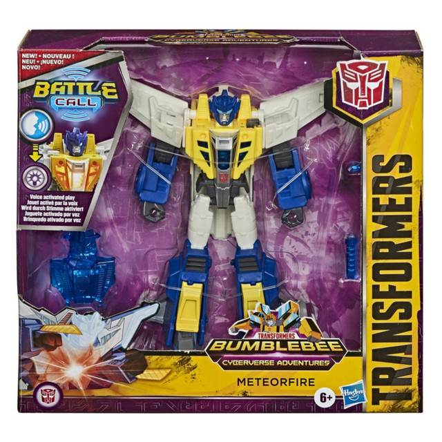 NEW Hasbro Transformers Bumblebee Cyberverse Maceralari Battle Call Meteorfire Figur 14cm PVC Action & Toy Figures E8375 4