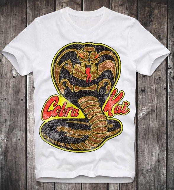 Camiseta Cobra Kai – karatê kid – vintage