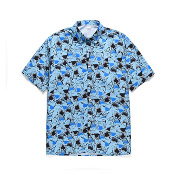 2020 Holiday Hawaiian shirt Men New Fashion Casual Beach Seaside Summer Shirts For Men Fruit Pineapple Print Blouse Top Clothes 5