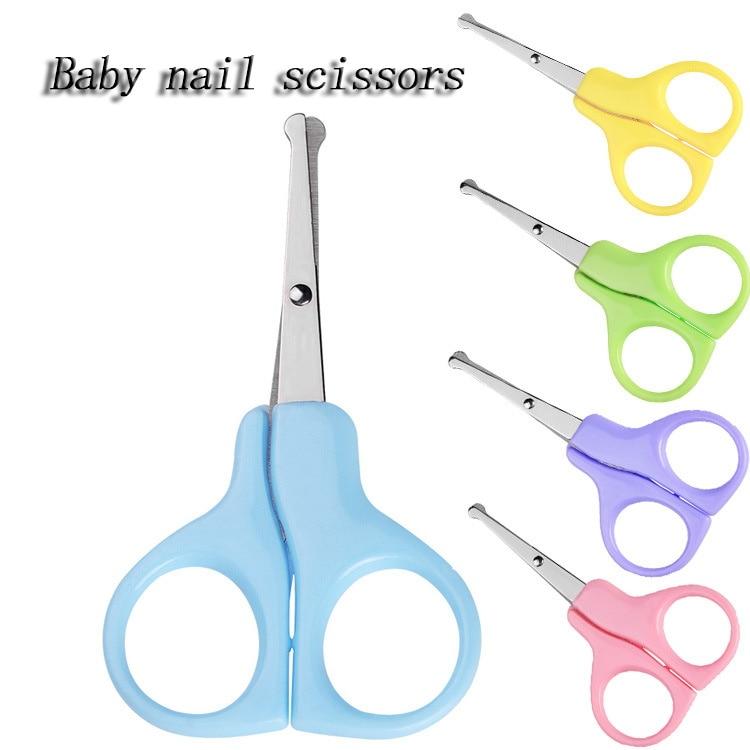 Newborn Baby Nail Clipper Scissors Trimmer Mini Cute Manicure Cutter Kids Special Nail Scissors
