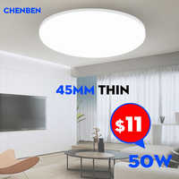 Ultra Thin Ceiling Lighting Surface Mounted Led Ceiling Lights luminaire for Living Room Bed Room Hall Modern Led Ceiling Lamps